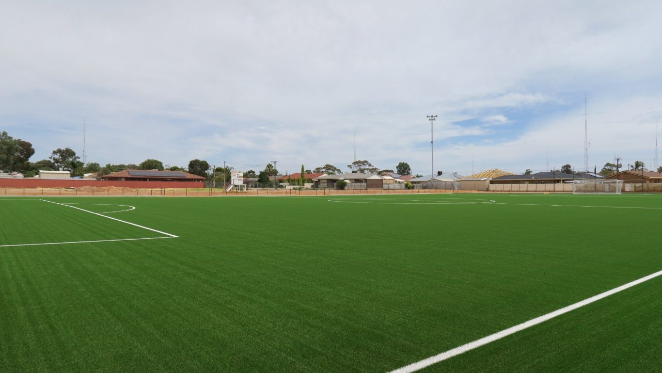 Northern Demons Virtus Soccer Club - New Northern Demons soccer pitch