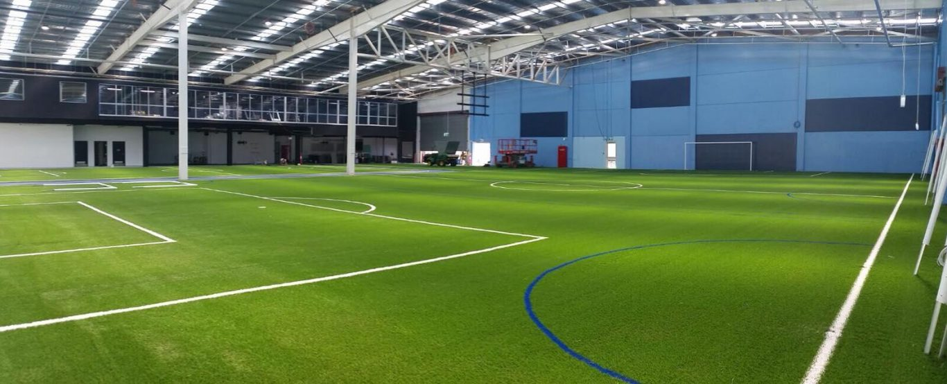 Elite Football Training Facility - New indoor football field