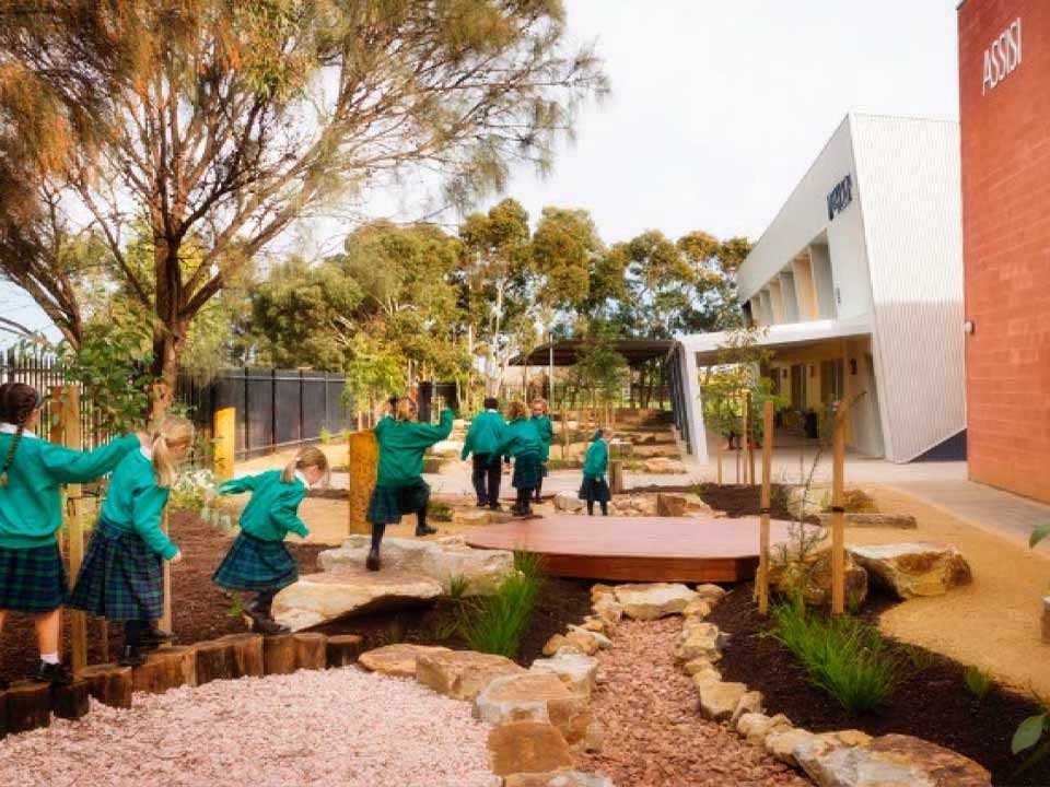 All Saints College - Natureplay area