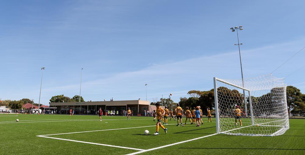 Cumberland United SC - Soccer Field