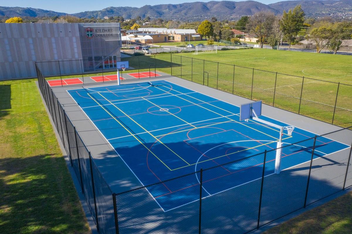 Kildare College - New multi-purpose sports courts
