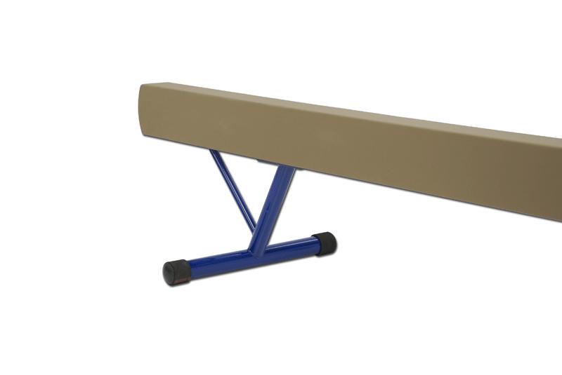 Aluminium balance beam padded and covered -