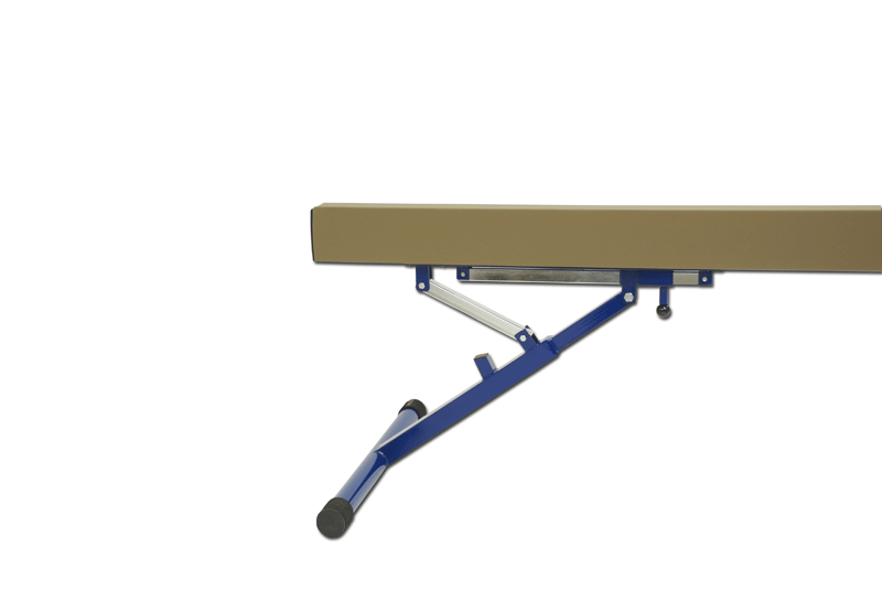 Aluminium balance beam padded and covered -