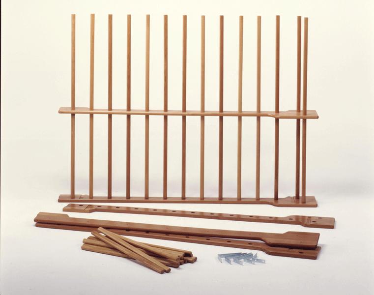 Swedish wooden wall bar at 1 span, 90x250cm -