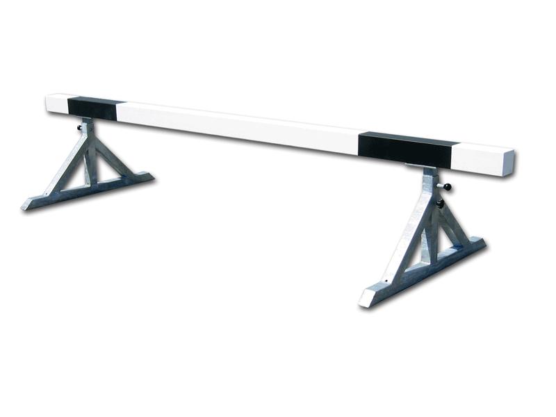 Set of mobile steeplechase hurdles -