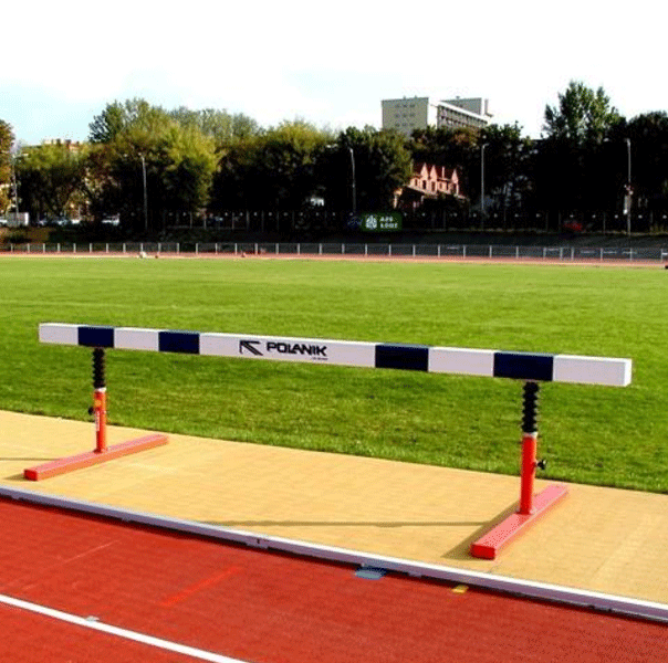 Set of mobile steeplechase hurdles IAAF approved for competition  -