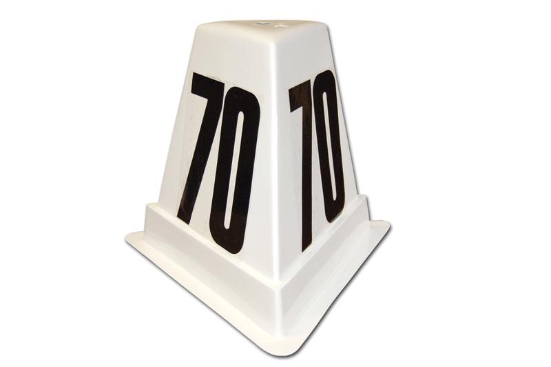 Fibreglass distance marker box -