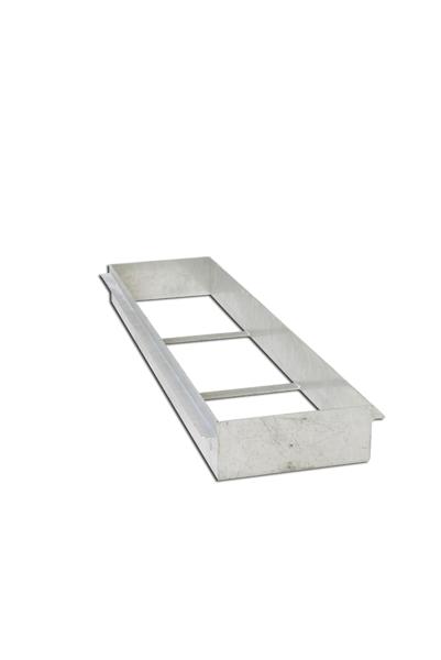 Galvanized steel box for take-off board -