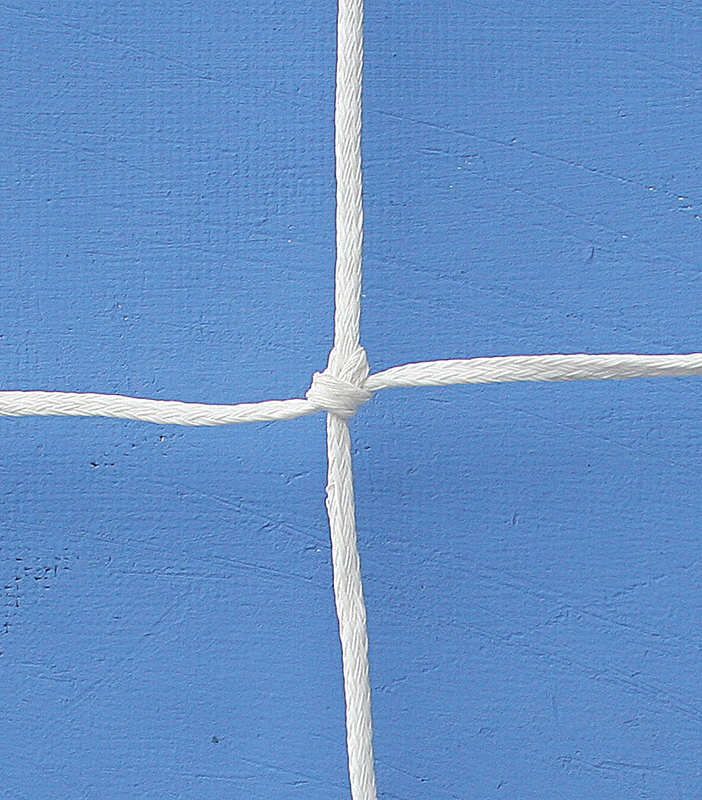 Pair of nets for reduced soccer goals 500x200 cm made of polyethylene -