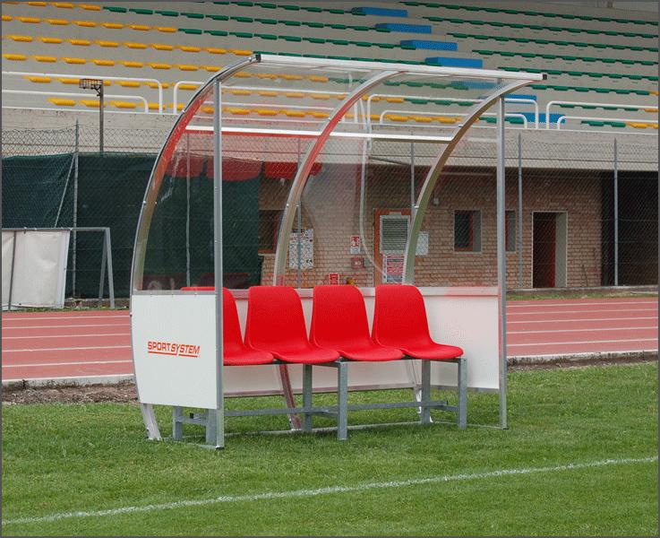 Team shelter aluminium construction -