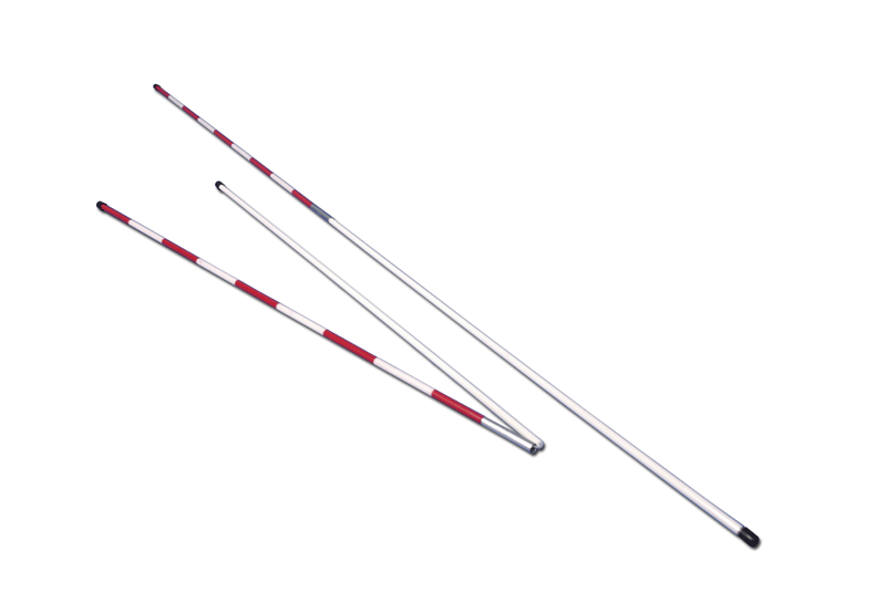 Pair of two pieces fibreglass antennas for volleyball net -