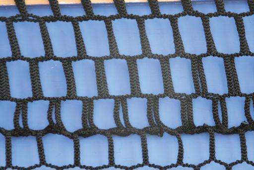 Professional tennis net made of polypropylene