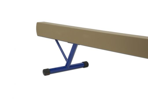 Aluminium balance beam padded and covered