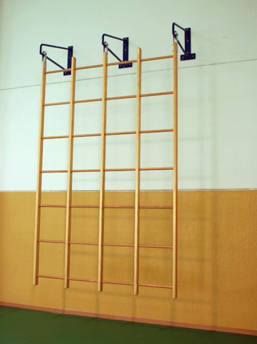 Swedish runged swinging wall bar with 16 holes (4x4 h)