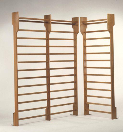 Swedish wooden wall bar at 1 span, 90x250cm