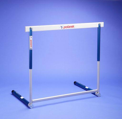 Olympic hurdle made of aluminium