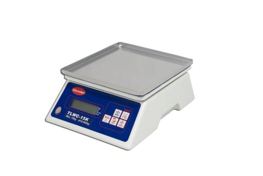 Digital electronic equipment scale