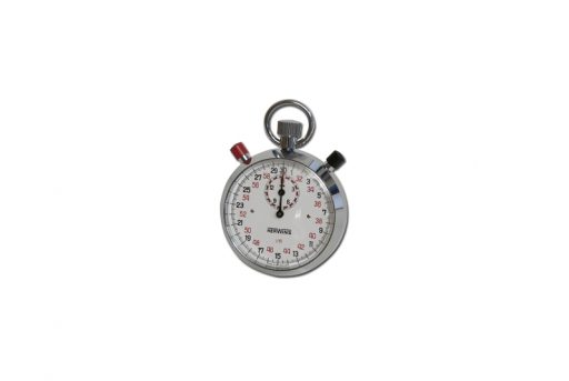 Mechanical stopwatch, precision 1/10 seconds