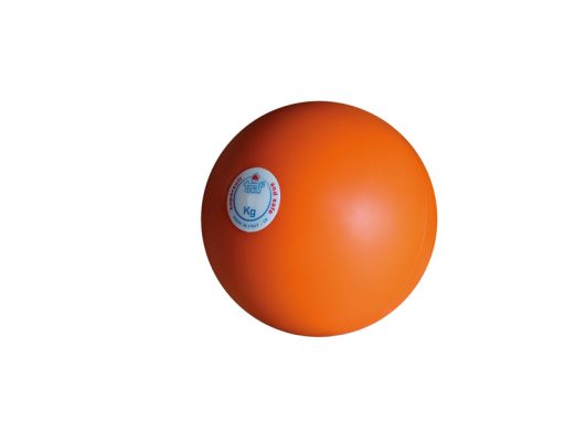 Rubber practice throwing ball, not bouncing, 1 kg