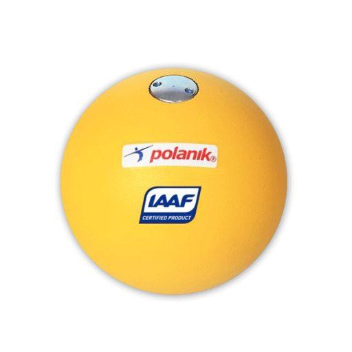 Polanik turned steel shot ball, weight 3 kg