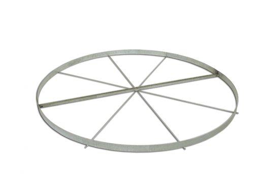 Shot put throwing circle, diameter 213.5cm made of 2 parts