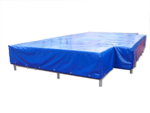 High jump landing area, dimension 400x300x50 cm