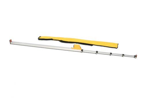 Aluminium height measurer for pole vault