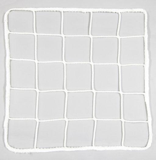 Pair of nets for standard soccer goals made of nylon