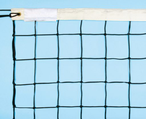 Torneo model net for volleyball made of polyethylene