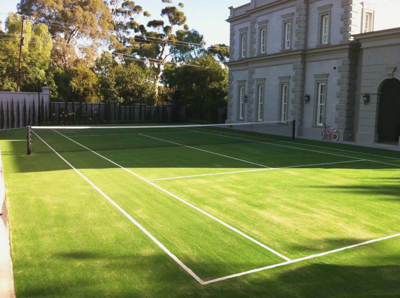 Private Tennis Court - Full size tennis court in Leahbrook SA