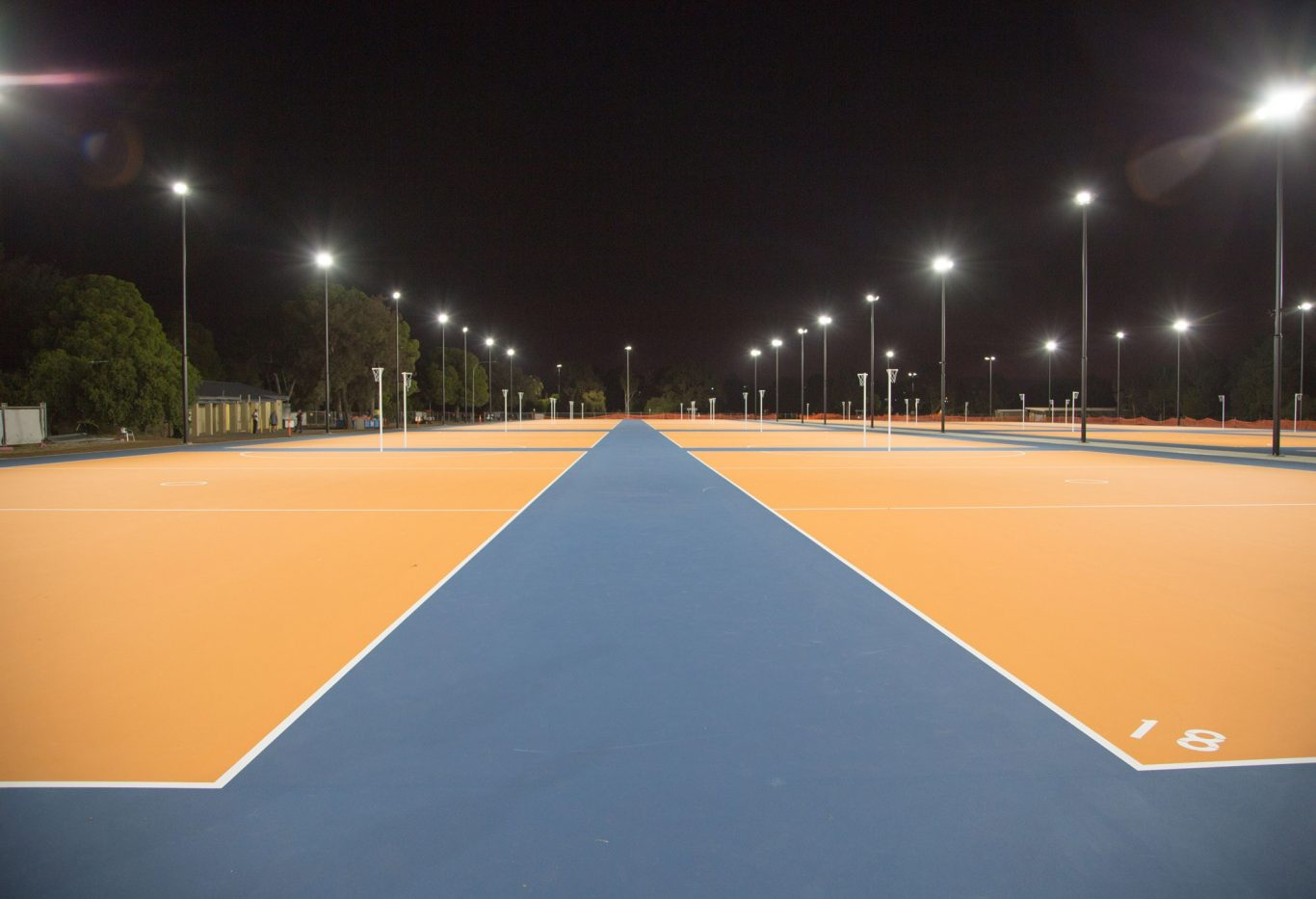 Wikaparntu Wirra Park 22 Netball Complex - 24 new Netball Courts