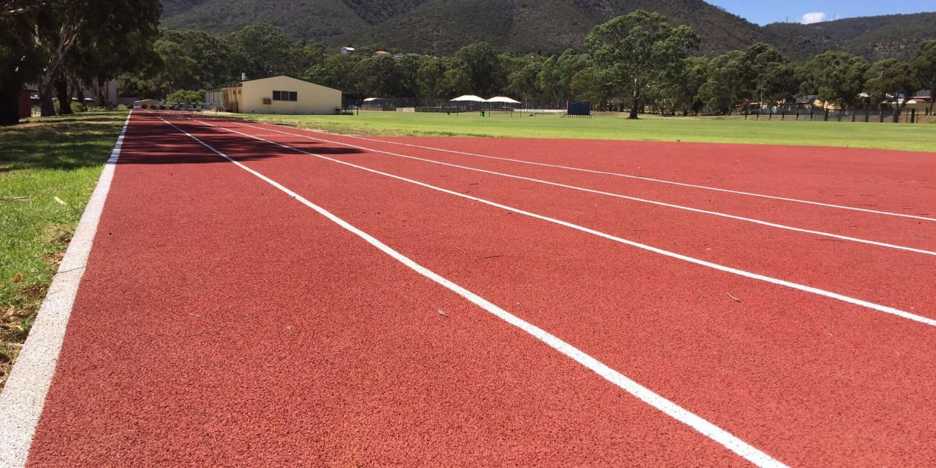 Saint Ignatius College - New Athletics track installed