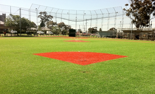 Sunshine Baseball Club - New artificial turf baseball field